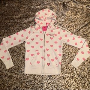 ❤️VS PINK HEART GEM HOODIE❤️ no offers